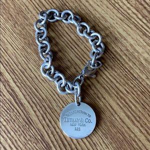 Tiffany & Co. Jewelry - Tiffany & Co sterling silver tag bracelet